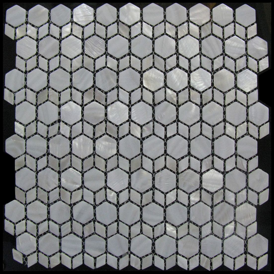 Tidepool Seaside Shell Mosaic Sheet, 1 tile