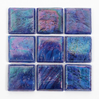 "Umbra Kolorines Iris Glass Mosaic Tile, 3/4"" x 3/4"" - 20mm, 1 square foot"