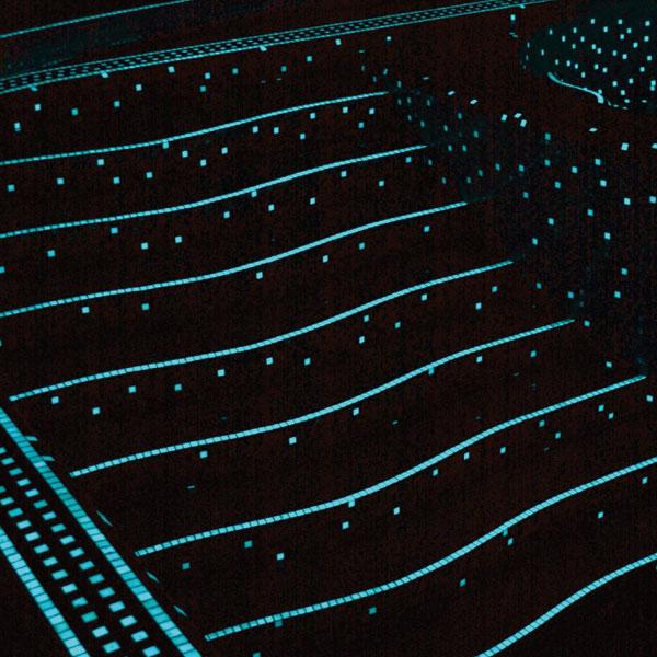 Agape tile bisazza custom pools murals gem tile - Glow in the dark swimming pool toys ...