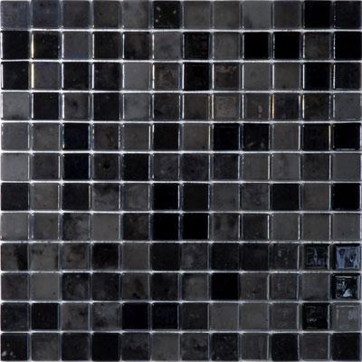 Black Velvet 407 Vidrepur Lux Gl Mosaic Tile 25mm 1