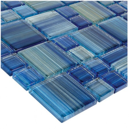 AIM Watercolors Series Glass Tile Blends