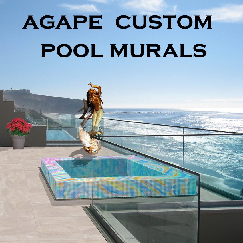 Agape Custom Pool Murals