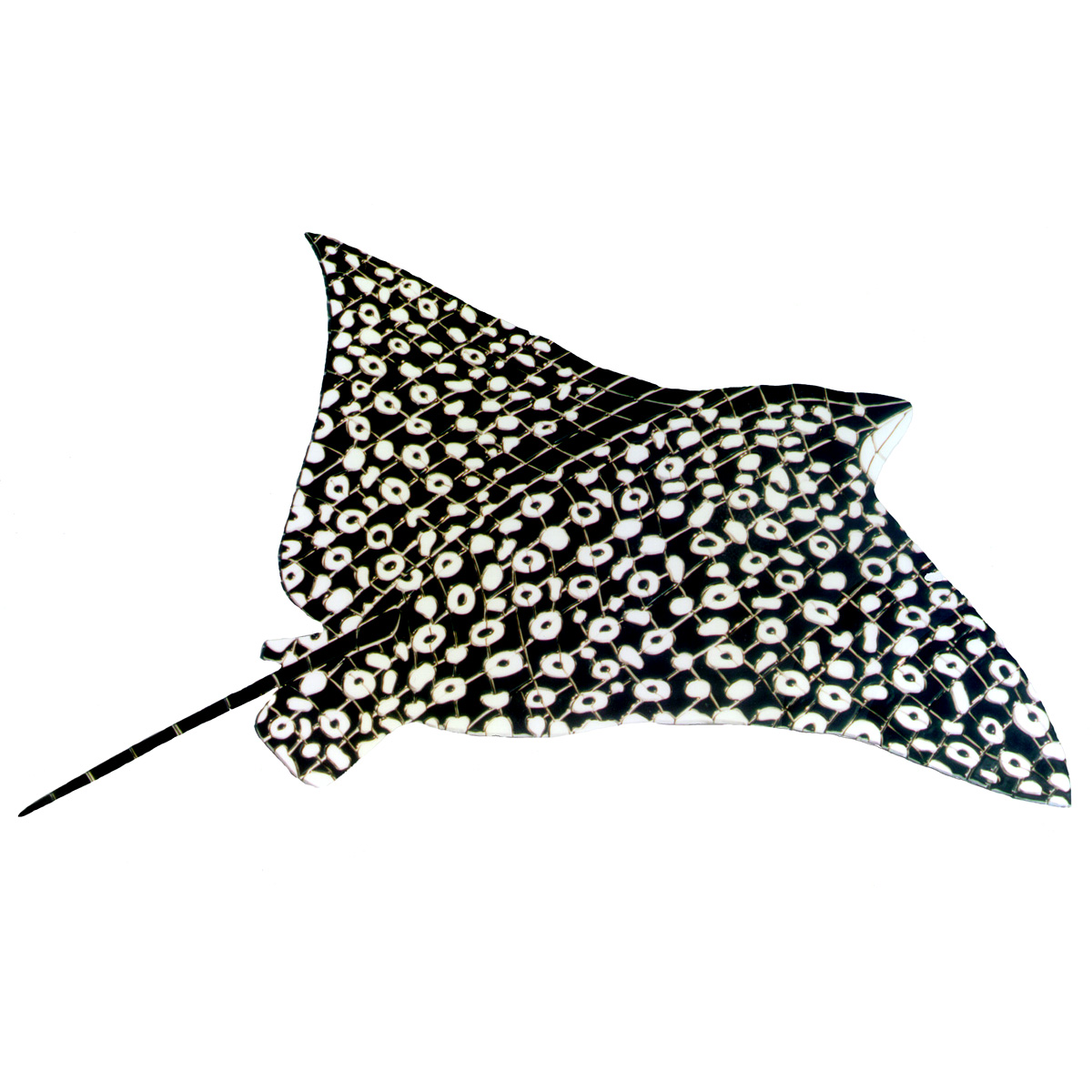 Eagle Sting Ray, Custom Ceramic Mosaic