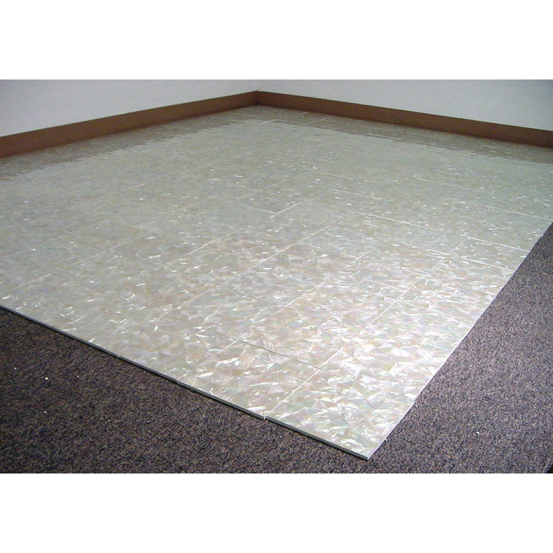 Seashell Flooring Tiles in Mother of Pearl